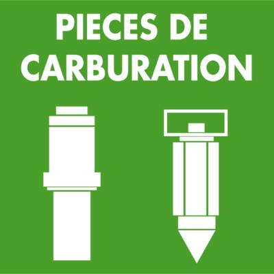 Pièces de carburation